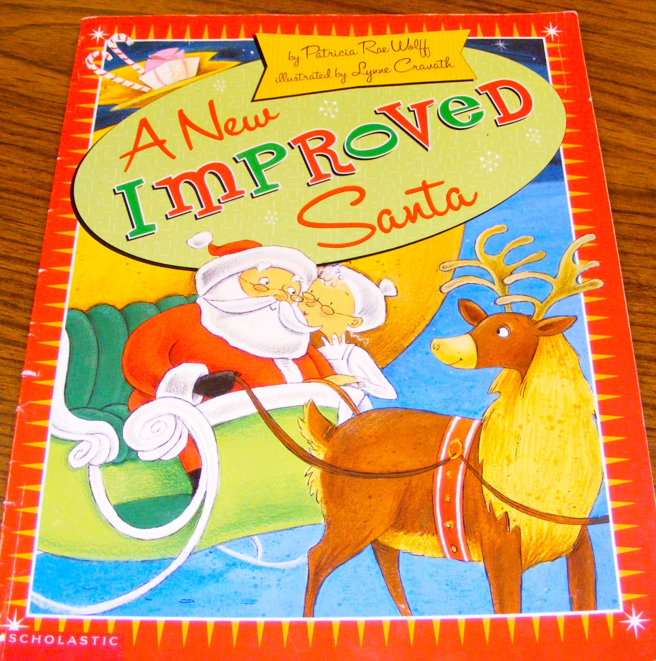A New Improved Santa (book photo)
