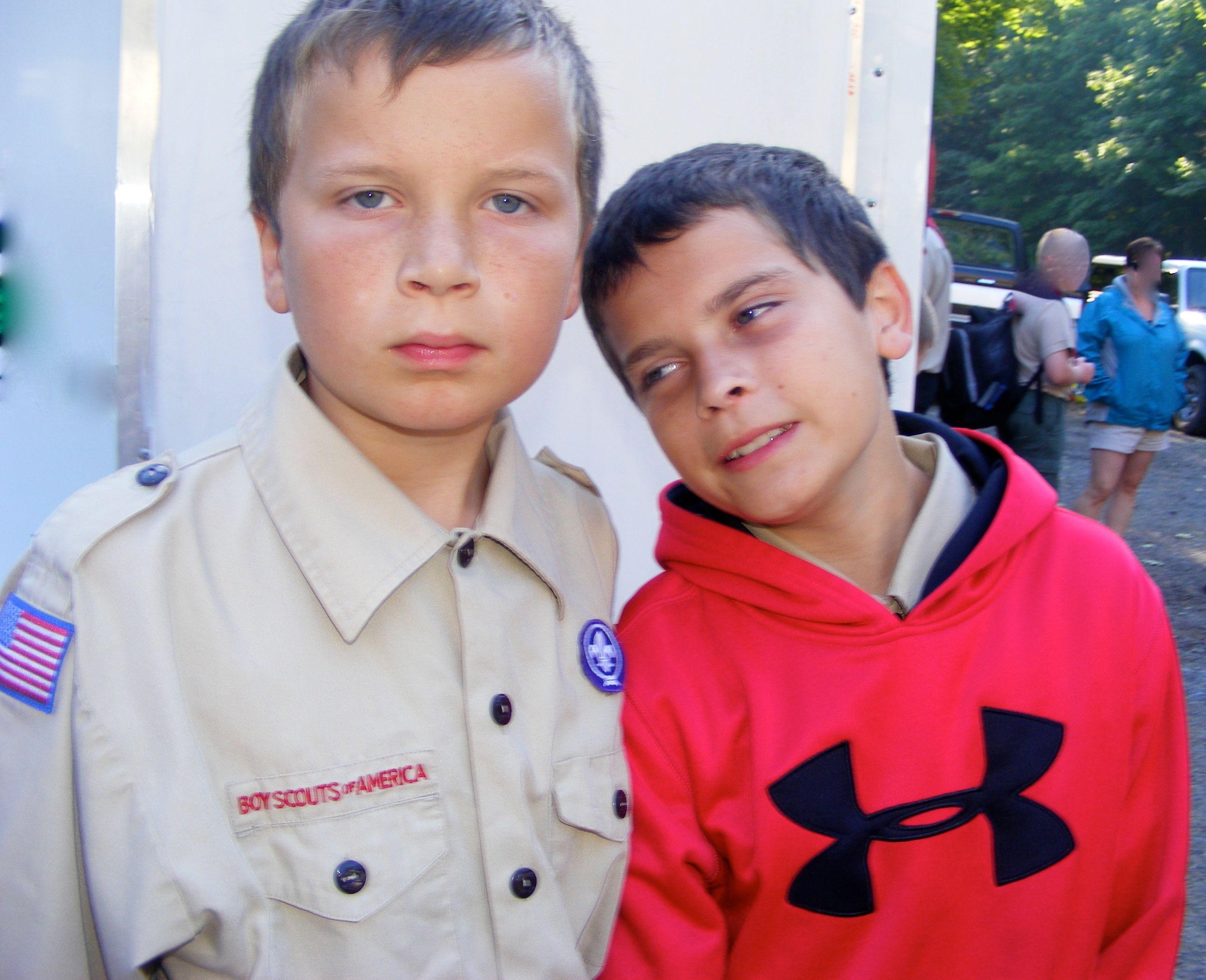 Boy Scout Camp - Noah & George