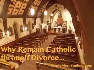 An Empty Catholic Church