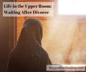 divorced woman empty room